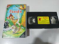 Bambi LOS CLASICOS DE WALT DISNEY - VHS CINTA CASTELLANO