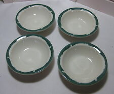 "4 Syracuse Restaurant China ""Wintergreen"" Fruit /Dessert /Sauce Bowls Vintage"