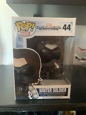 Funko Pop Vinyl Bobble-Head Captain America The Winter Soldier 44 Vaulted Rare