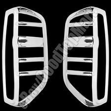 For Nissan FRONTIER 2005-2011 2012 2013 2014 2015 Chrome Rear Tail Lights Covers