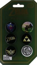 Legend of Zelda The Pala Collectors Edition 6 Pin Badges Set Link Hylian Shield