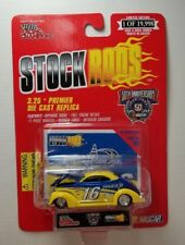 New! STOCK RODS -1937 Yellow Ford Coupe #83 - NASCAR Racing Champions