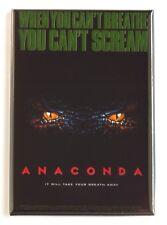 Anaconda Fridge Magnet (2.5 x 3.5 inches) movie poster