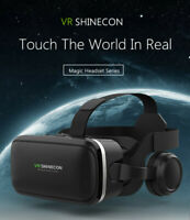 VR Virtual Reality 3D Glasses with Headset SHINECON6.0 For Samsung iPhone Huawei