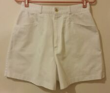 Christopher & Banks Short Pants Women White Cotton Size 10 Inseam 5