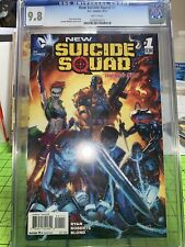 DC NEW 52 SUICIDE SQUAD #1 2014 CGC 9.8 Old label NM+ Movie Coming