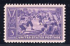 U.S. STAMP #855 -- 3c BASEBALL -  XF-SUPERB --  MINT -  GRADED 95
