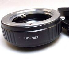 Minolta MD Mount Lens to Sony E Camera Adapter Ring Reducer Speed Booster ILCE