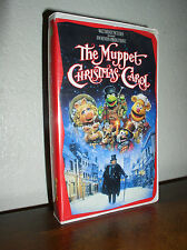 The Muppet Christmas Carol starring Michael Caine (VHS, 1993,Clamshell)