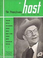 "Bobby Clark ""MEXICAN HAYRIDE"" Cole Porter 1944 Metropolitan ""HOST"" Magazine"