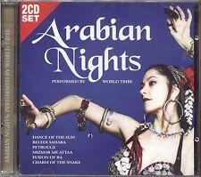 WORLD TRIBE - Arabian nights - 2 CD NEAR MINT CONDITION