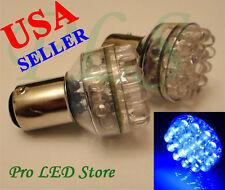 1156 1073 3497 Blue 24 LED BA15S Backup Light Brake Signal Lights