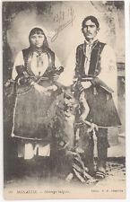 CPA SERBIE - MONASTIR - MARIAGE BULGARE