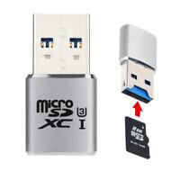 USB 3.0 Mini Card Reader/MICRO SD/SDXC Aluminum TF Kartenadapter Kartenleser DE