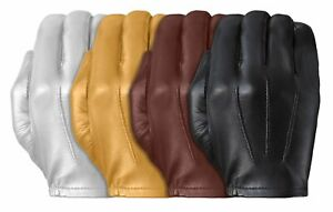 TD302 Tough Gloves Ultra Thin Patrol Cabretta unlined leather gloves