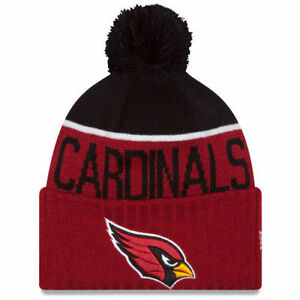 "Arizona Cardinals New Era ""NFL 2015 Sport Knit"" Sideline Beanie Great Gift"