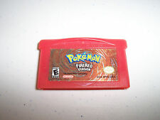 Game Boy Advance Pokemon Firered Fire Red Authentic Game Boy Advance SP Game