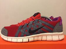 Nike Free Powerlines (525267-601) Red/Grey Men's Sz 11 Safari Atmos Doernbecher