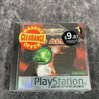 Command & Conquer Red Alert PS1 PlayStation 1 PAL Game NEW Sealed Platinum