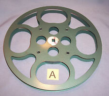 16MM 800' Metal Motion Picture Film Camera Movie Projector Take Up Reel Spool A