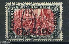 DP Marokko 6 P 25 C Aufdruck 1906 Aufdruckfehler Michel 45 I Attest (S7877)