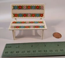 Mary Engelbreit Playmates Garden Bench with Flowers