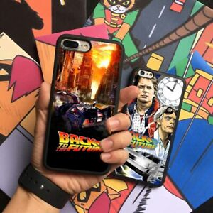 Back to the Future Movie Silicone Case Cover For iPhone Samsung Huawei
