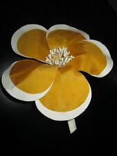 flower corsage orange Original large 1960s