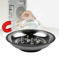 """4"""" /6"""" Round Magnetic Bowl Tray Tool Screw Parts Holder  Organize HOME"""