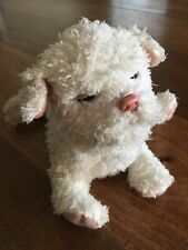 Furreal Newborn Puppy Dog White Ivory Moves Whines Barks Animated You #70189