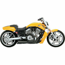 Vance & Hines Black Ceramic Competition 2-1 Exhaust Harley V-Rod Muscle 09-16