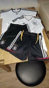 adidas dfb Paket Trikot Short Gr 176 / S
