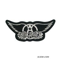 AeroSmith Music Band Sew on Iron on Patch Badge Embroidered for Clothes Bags etc