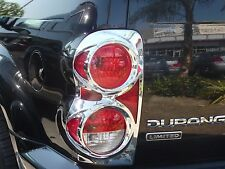 DODGE DURANGO SUV 2004 - 2009  TFP ABS CHROME TAIL LIGHT COVER SET - 312D