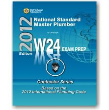 W24 National Standard Master Plumber Questions Workbook ICC Exam