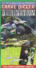GRAVE DIGGER Domination SFX Motor Sports VHS MONSTER TRUCKS