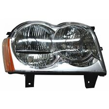 PASSENGER RIGHT HALOGEN FITS JEEP GRAND CHEROKEE 05 06 07 HEADLIGHT [20-6589]