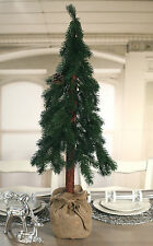 2 x Christmas Tree Table Centres Decor Pencil Pine Christmas Decoration 90cm