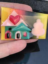 Lucinda House Vintage Pin Brooch D-3186