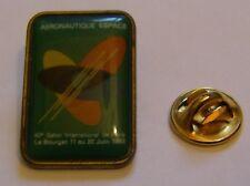 PARIS AIR SHOW LE BOURGET 1993 espace aviation vintage pin badge