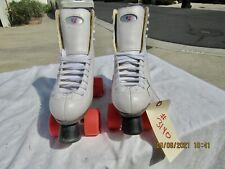 Women's Riedell Roller Skates 111W Size 8 Zen Sonar Wheels Excellent Shape
