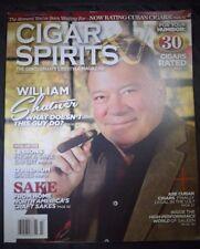 Cigar & Spirits March/April 2015 William Shatner Sake Cuban Cigars