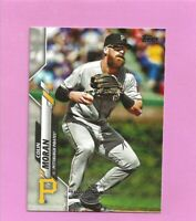 2020 Topps 582 Montgomery Club Foil Stamp #489 Colin Moran Pittsburgh Pirates