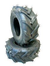 (2) dos 13x5.00-6 Deestone superlug Tubeless Neumáticos!!!! envío Gratuito!!!