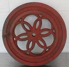 Antique Berkel's 1901 American Slicing Machine Co Model  Meat Slicer Flywheel #2