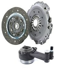 3Pc Clutch Kit Fit For Ford Puma 1.7 16V Engine Code: MHA MHB 03 1997 To 06 2002