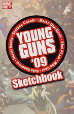 Young Guns '09 Sketchbook One-Shot (2009) Marvel Comics (bx10)