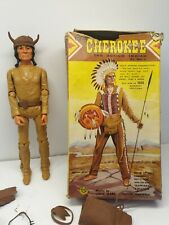Chief Cherokee The Action Indian Made By Marx 1960s , Johnny West vintage