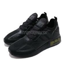 adidas Originals ZX 2K BOOST Black Solar Yellow Men Running Casual Shoes FV8453