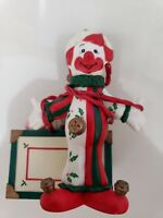 CLOWN & TOY CHEST CHRISTMAS HOLIDAY HANGING ORNAMENT
